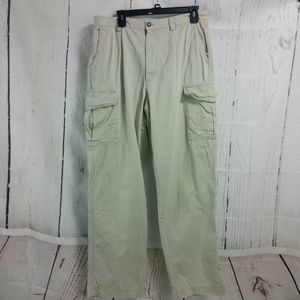 Eddie Bauer 35W Tan Cargo Pants Men's 35x32
